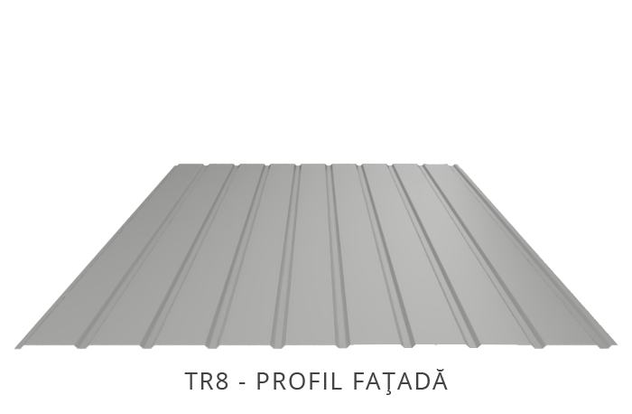 RAL 9006 PVDF