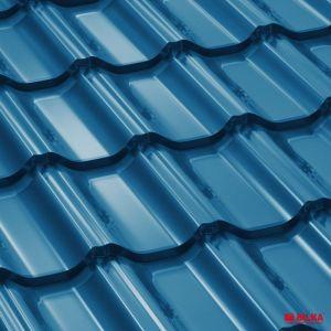 Tigla metalica Bilka Goticral 5010 albastru