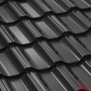 Tigla metalica Bilka Goticral 9005 negru