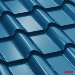 tigla metalica bilka balcanic RAL 5010 albastru