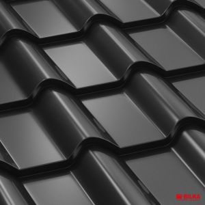 tigla metalica bilka balcanic RAL 9005 negru