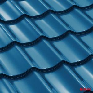 tigla metalica bilka clasic ral 5010 albastru