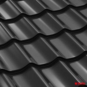 tigla metalica bilka clasic ral 9005 negru