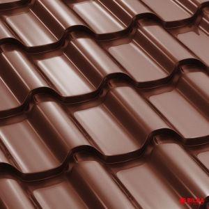 tigla metalica bilka romanic ral 8017 maro ciocolatiu