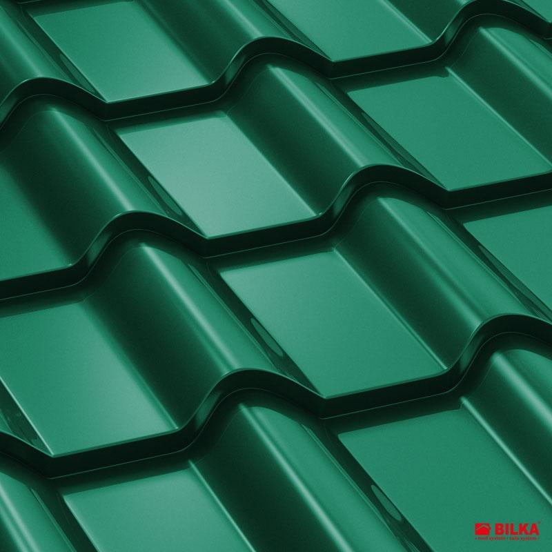 tigla metalica bilka balcanic RAL 6005 verde