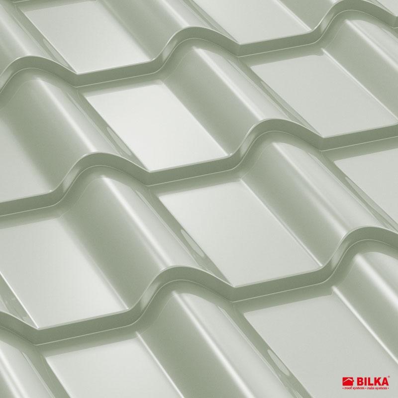 tigla metalica bilka balcanic RAL 9002 alb