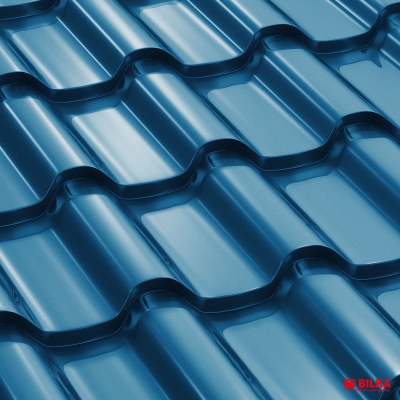tigla metalica bilka romanic ral 5010 albastru